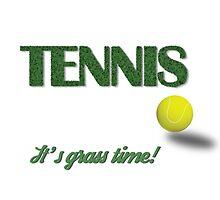 Tennis - Grass by Sara  Hassan