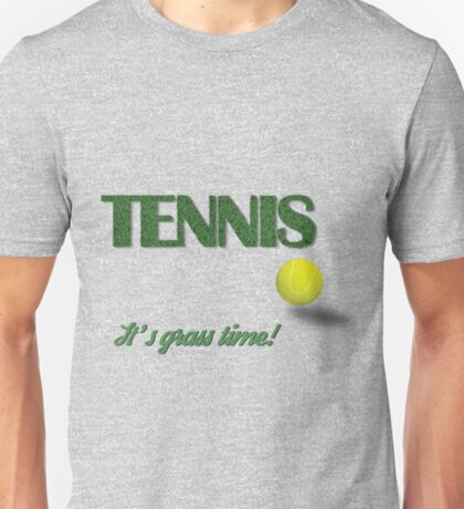 Tennis - Grass Unisex T-Shirt