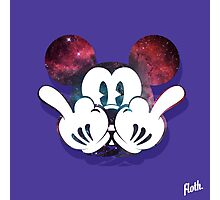 Mouse Nebula Middle Fingers Head Photographic Print