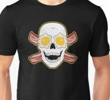 Bacon & Eggs Skull Unisex T-Shirt