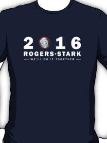 Rogers/Stark Presidential Running Team T-Shirt