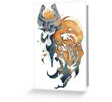 Midna Watercolor Design Greeting Card