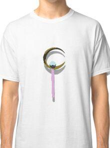 sailor moon crescent moon wand v2 Classic T-Shirt