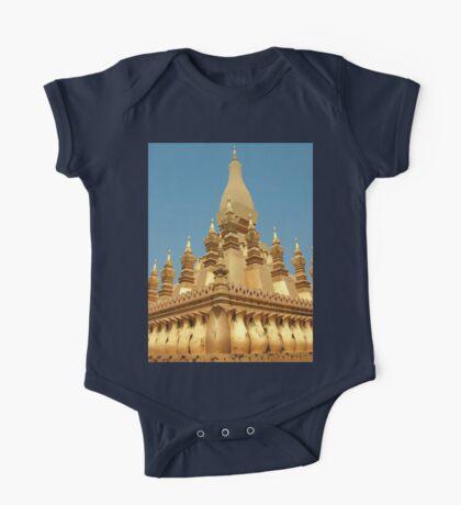 a sprawling Laos landscape One Piece - Short Sleeve