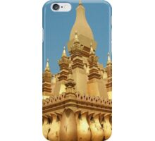a sprawling Laos landscape iPhone Case/Skin