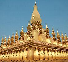 a sprawling Laos landscape by beautifulscenes