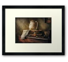 Nostalgia - The Water Pitcher Framed Print