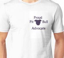 Pit Bull Advocate Unisex T-Shirt