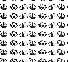 Tumbling Panda Bears (SET) by Articles & Anecdotes