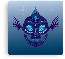 Zora Sugar Skull Canvas Print