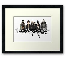 Once upon a time Fan Art Framed Print