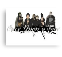 Once upon a time Fan Art Canvas Print