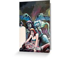 Eerie Publications Textless cover #2 Greeting Card
