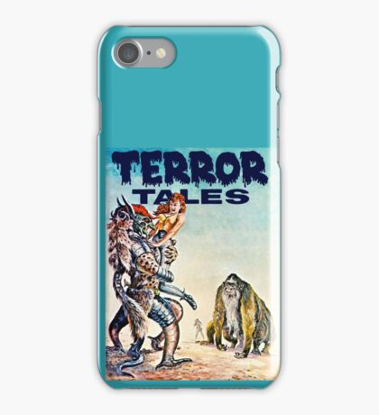 Terror Tales - Textless Cover Art 1 iPhone Case/Skin