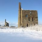 Engine Houses In The Snow by SuzyFoo