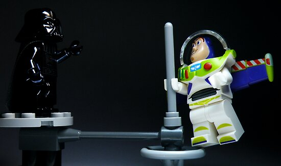"""""""No, Buzz. I *am* your father!"""" by smokebelch"""