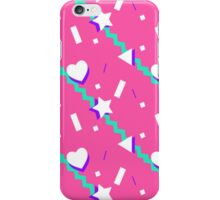 Pink Shapes iPhone Case/Skin