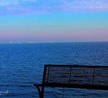 Boats on the Horizon by Sarah Keys