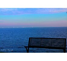 Boats on the Horizon Photographic Print