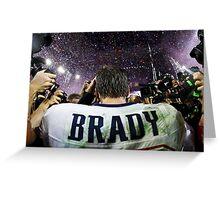 Tom Brady - The GOAT Greeting Card