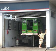 At the Lube by ralph arce