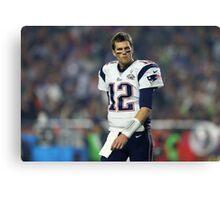 Tom Brady - The GOAT Canvas Print
