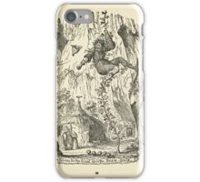 The Cruikshank Fairy Book Four Famous Stories George Cruikshank 1911 0107 The Fairies Tie the Giant up in the Bean Stalk iPhone Case/Skin