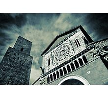 Church of San Pietro - Tuscania Photographic Print