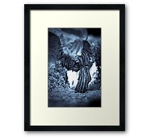 Eternally Doomed Ghost Framed Print