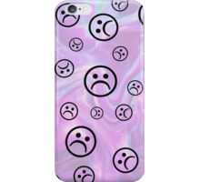 Sad Face Phone Case iPhone Case/Skin