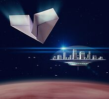 The Finest Paper Planes in the Galaxy III by Jonty Dalton