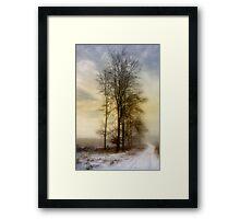 Christmas Eve in the Snow - 3 Framed Print