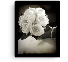 The Bride Canvas Print