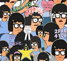 Tina Collage Phone Case by shoptumblr