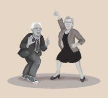 Disco Night with Bernie Sanders and Elizabeth Warren by Kim  Harris