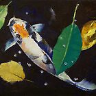 Kumonryu Koi Art by Michael Creese