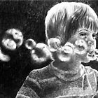 The bubble blower by Susana Weber