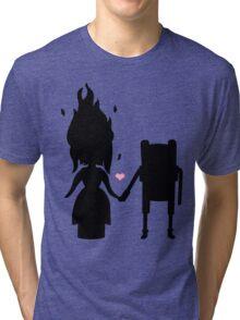 Finn and the Flame Princess Tri-blend T-Shirt