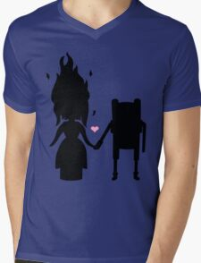 Finn and the Flame Princess Mens V-Neck T-Shirt