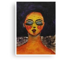 Like Klimt, I Guess Canvas Print