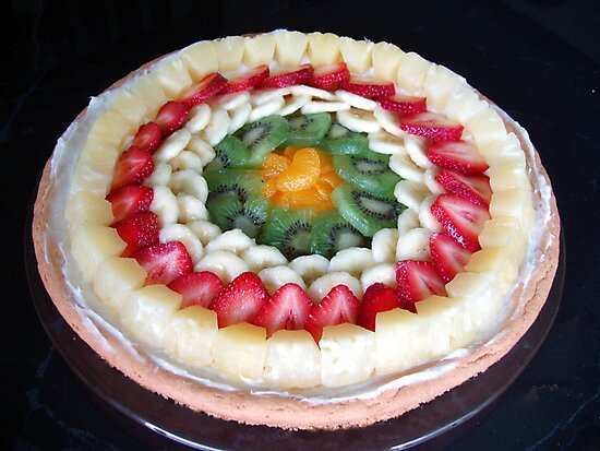 Fancy Fruit Pizza by Marija