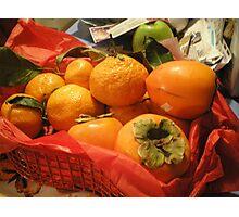 Fruits of Christmas Photographic Print