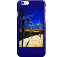 Darkness at the Crucifixion of Jesus iPhone Case/Skin