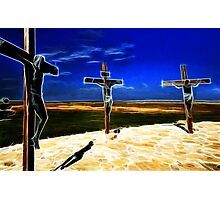 Darkness at the Crucifixion of Jesus Photographic Print