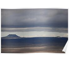 Table Rock, Green River Wyoming Region Poster
