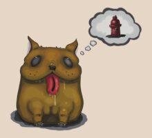 Drooling Dog t-shirt by Giulliane V. Medeiros