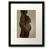 liz by:glenn goulding copyright  Framed Print