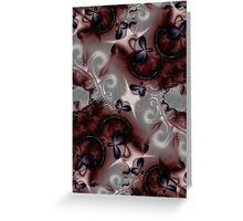 Crimson Daydreams Greeting Card