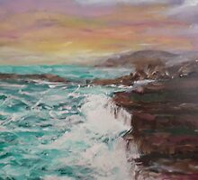 colorful seascape by Jill Camilleri