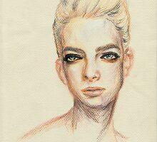 beauty in her eyes  by terusaru